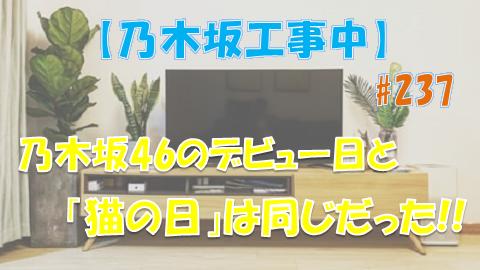 乃木坂工事中_猫の日